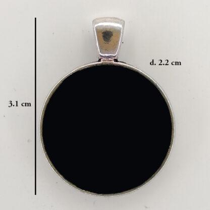 ciondolo base cerchio 10 misure