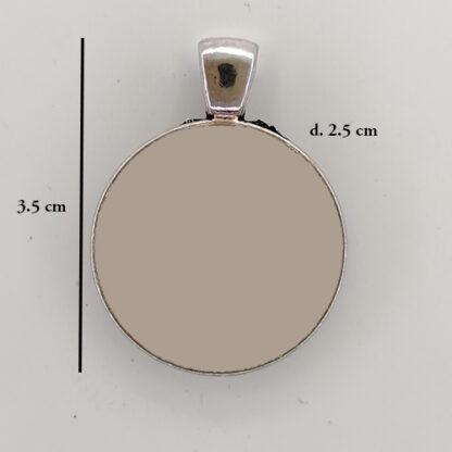 ciondolo base cerchio 12 misure