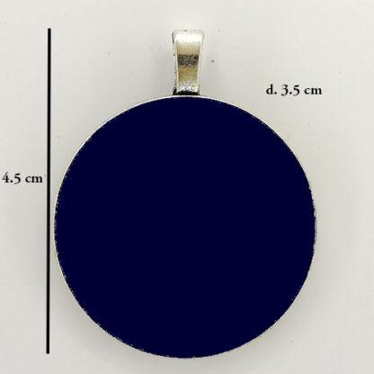 ciondolo base cerchio 16 misure