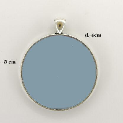 ciondolo base cerchio 18 misure