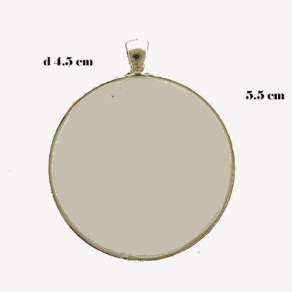 ciondolo base cerchio 20