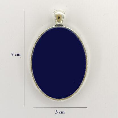 ciondolo base ovale 16 misure