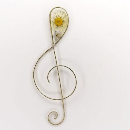 segnalibro chiave di violino