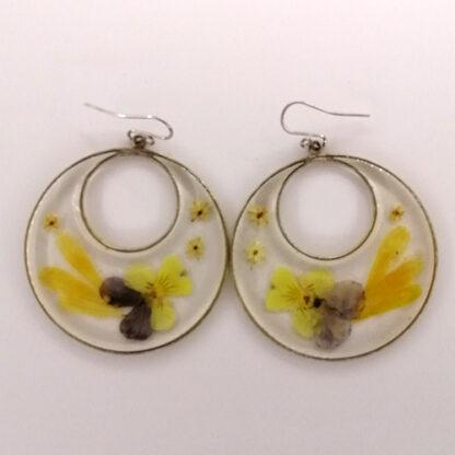 orecchini doppio cerchio