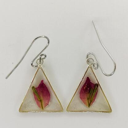 orecchini triangolo